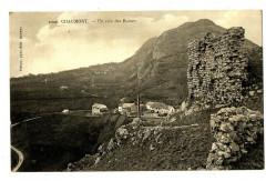 Haute-Savoie Chaumont un coin des ruines - Chaumont