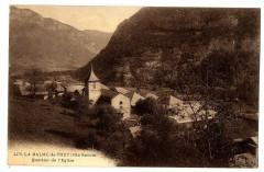 Haute-Savoie La Balme-de-Thuy Quartier de l'Eglise - La Balme-de-Thuy
