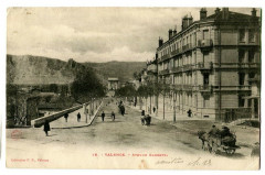 Drôme Valence Avenue Gambetta animé - Valence