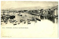 Var Toulon Le port La Vieille Darse bateaux - Toulon
