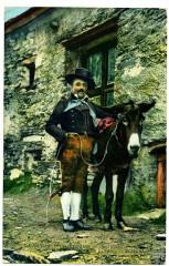 Savoie Costume Folklore Bessans - Bessans