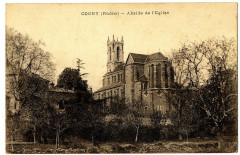 Rhône Cogny Abside de l'Eglise - Cogny