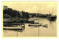 Haute-Savoie Thonon-les-Bains Le Port animé bateaux - Thonon-les-Bains