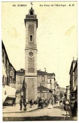 Gard Nimes La Tour de l'Horloge animé - Nîmes