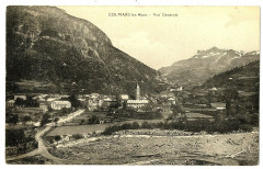 Alpes de Haute-Provence Colmars les Alpes vue générale - Colmars