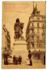 Herault Béziers Statue Paul Riquet animé - Béziers