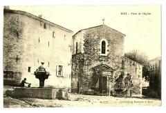 Alpes-de-Haute-Provence Riez Place de l'Eglise animé - Riez
