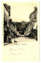 Jura Poligny Grande-Rue animé - Poligny
