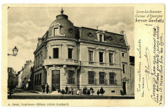 Jura Lons-le-Saunier Caisse d'Epargne Avenue Gambetta animé - Lons-le-Saunier