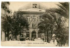 Var Toulon Théâtre Entrée des Artistes animé - Toulon