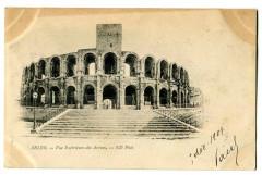 Bouche du Rhône Arles Vue Exterieure des Arènes - Arles
