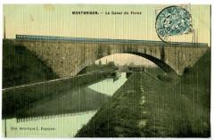 Loire Montbrison Le Canal du Forez - Montbrison