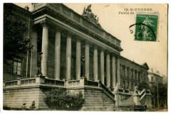 Loire Saint-Etienne Palais de Justice animé - Saint-Étienne