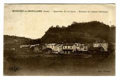 Jura Moirans-en-montagne Quartier de la Gare Ruines du Vieux Château - Moirans-en-Montagne