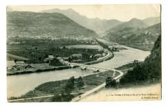 Savoie Vallée d'Albertville et le Pont d'Albertin - Albertville