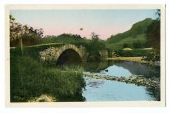 Jura Foncine-le-Haut La saine et le Pont du Communal - Foncine-le-Haut