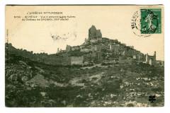 Ardèche Saint-Peray Vue d'ensemble des Ruines du Château de Crussol - Saint-Péray