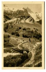Hautes-Alpes La Meije vue de la Grave - La Grave