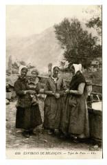 Hautes-Alpes Environs de Briançon Types du Pays animé Folklore - Briançon