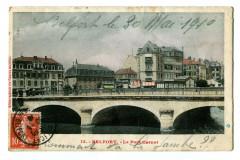 Territoire-de-Belfort Belfort pont Carnot animé - Belfort