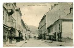 Savoie Albertville Rue de la République - Albertville