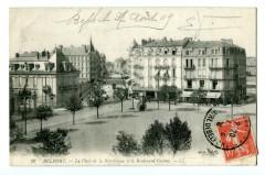 Territoire-de-Belfort Belfort  Place de la république et Boulevard Carnot - Belfort