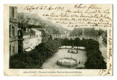 Territoire-de-Belfort Belfort Place d'armes Statue Quand Même - Belfort