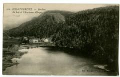 Jura Bonlieu Le Lac et l'ancienne Abbaye - Bonlieu