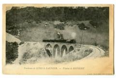 Jura Environs de Lons-le-Saunier Viaduc de Revigny animé train - Lons-le-Saunier