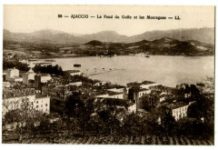 Corse Ajaccio Le Fond du Golfe et les Montagnes - Ajaccio
