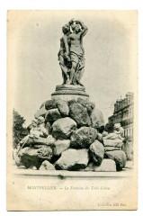 Herault Montpellier La Fontaine des Trois Grâces - Montpellier