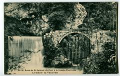 Isère Route de Saint-Laurent du Pont à la Grande Chartreuse Le Guiers Pont - Saint-Laurent-du-Pont