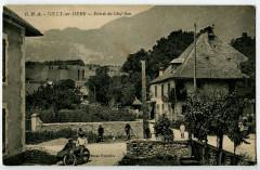 Savoie Gilly-sur-Isère Entrée du Chef-Lieu animé - Gilly-sur-Isère