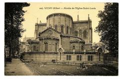Auvergne 03 Allier Vichy Abside de l'Eglise Saint-Louis - Vichy