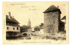 Jura Arbois Clocher et Tour Gloriette - Arbois