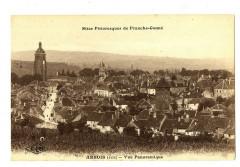 Jura Arbois Vue Panoramique - Arbois