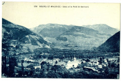 Savoie Bourg-Saint-Maurice Séez et le Petit Saint-Bernard - Bourg-Saint-Maurice