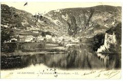 Isère Pont-en-Royans vue générale - Pont-en-Royans