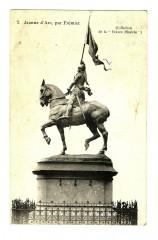 Paris Statue de Jeanne d'Arc par Frémiet - Paris