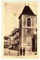Jura Lons-Le-Saunier La Tour animé - Lons-le-Saunier