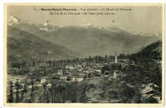 Savoie Bourg-Saint-Maurice Vue générale massif de Bellecote - Bourg-Saint-Maurice