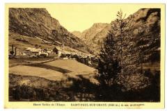 Alpes de Haute-Provence Saint-Paul-sur-Ubaye et ses Montagnes - Saint-Paul-sur-Ubaye