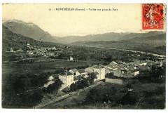 Savoie Montmélian Vallée vue prise du Fort - Montmélian