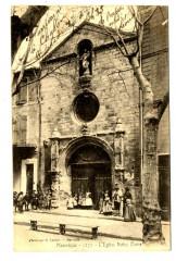 Alpes-de-Haute-Provence Manosque L'Eglise Notre-Dame animé - Manosque