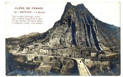 Alpes de Haute-Provence Sisteron La Baume Carte-photo - Sisteron