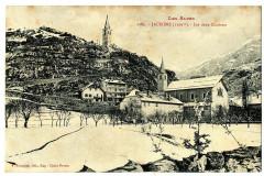 Alpes de Haute-Provence Jausiers Les deux Clochers - Jausiers