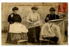 Haute-Saône Luxeuil-les-Bains Dentelières Comment on brode à Luxeuil - Luxeuil-les-Bains