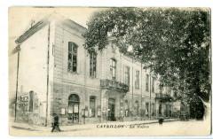 Vaucluse Cavaillon La Mairie animé - Cavaillon