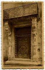 Vaucluse Carpentras Rue des Marins Porte du XVIIème siècle - Carpentras