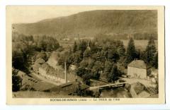 Jura Bourg-de-Sirod Le défilé de l'Ain - Bourg-de-Sirod